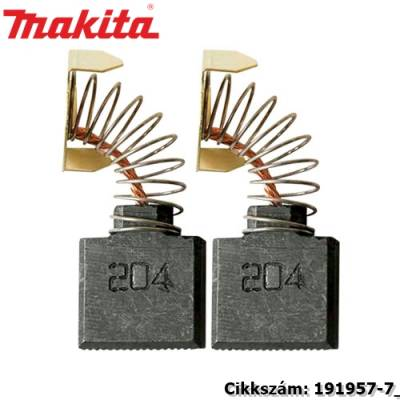 16,2 x 17,9 x 7mm szénkefe CB-204 1pár/csomag MAKITA alkatrész