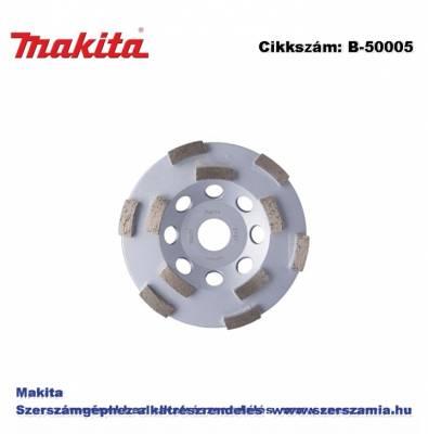 Betoncsiszoló tárcsa TURBO 125 mm szegm: 6,7 f: 22,23 T2 MAKITA