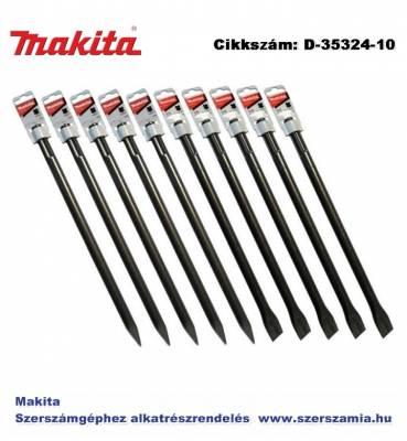 Véső hegyes, lapos készlet standard SDS-Max 5 plusz 5 T2 400 mm MAKITA