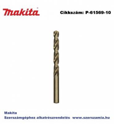 Fémfúró HSS Co5 sz. 4,75x80 mm T2 MAKITA 10db/csomag