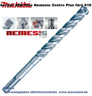 Fúró SDS-Plus 10 x 450 mm Nemesis Zentro Plus T2 MAKITA