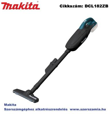 MAKITA 18V LXT Li-Ion porszívó, 60 m3/h Z
