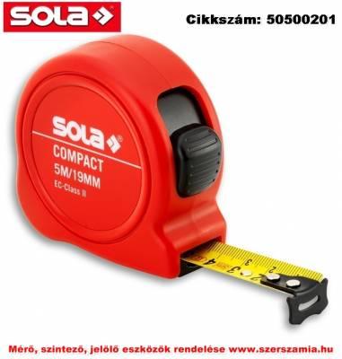 Mérőszalag 19 mm Compact CO 5 EK-osztály 2 SOLA
