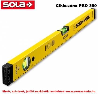 Alu-vízmérték SM Profi 30 sárga SOLA
