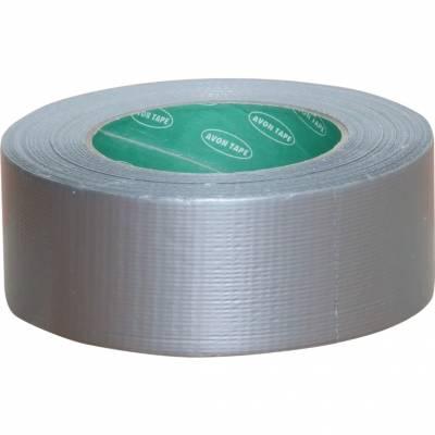 Textilszalag vízálló ezüst 50mm x 50m