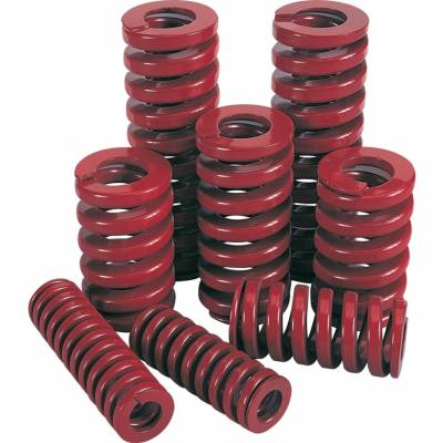 Présrugó - nagy teherbírású piros 10 x 38mm