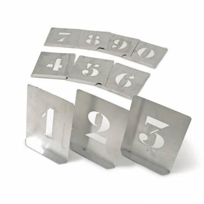 Stencil számok (10 db-os klt,) 100mm