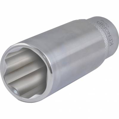 Dugókulcs 3/8col meghajtóval hosszú KEN-GRIP 18mm 64mm DIN3124