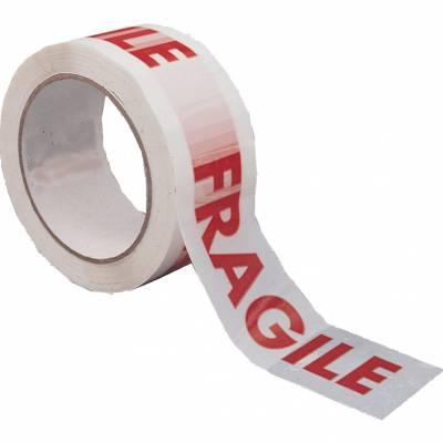 Feliratos kartonlezáró szalag (Fragile) 50mmx66m
