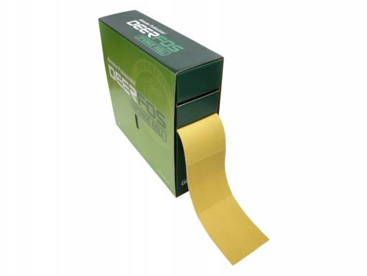 DEERFOS perforált szivacsos csiszolópapír tekercs CA331SP 115mmx25m P320A