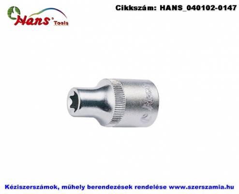 HANS 3/8 col E-STAR dugókulcsfej E7 3410E07