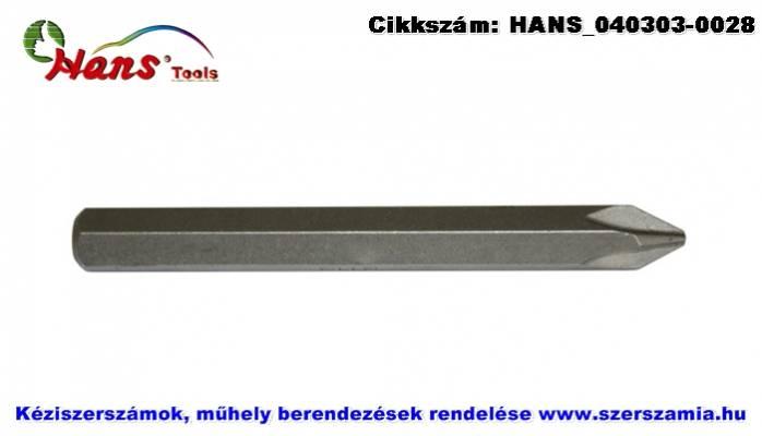HANS 5/16 col Phillips bit hegy S2 PH4x80 022-8PH4 6db/csomag