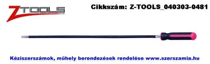 Z-TOOLS flexibilis nyeles dugókulcs 7x150/265mm