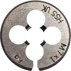 Kör alakú metrikus menetmetsző M1,6 x 0,35mm HSS BS1127