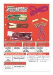 Ugrálókötél nehezített vegyes 2,8 m 10 mm