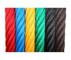 Poliészter kötél sodrott színes 3 mm