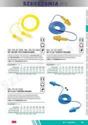 3M PN-01-006 Peltor next tri-flange füldugó textil zsinór, 100db / doboz