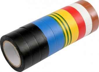 Szigetelőszalag 10 db-os, 15 mm x 10 m (R20)