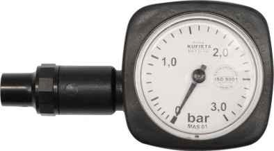 Nyomásmérő óra 0,5-3 BAR (R10)