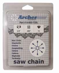 ARCHER lánc 50x3/8LPx1,3 mm, bliszter