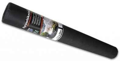 Geotextil 50 gr fekete 1,6m x 200 fm (K1/5)