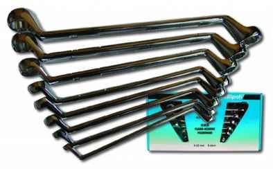 Csillag kulcs klt. 12 db-os 6x32 mm, hajlított JOBI