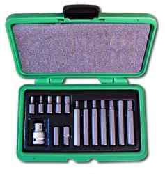 Kulcs klt. HONITON IMBUSZ, 1/2 col, 4-12mm, 30-75mm, 15 db-os
