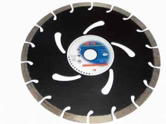 Gyémántvágó korong szegmenses 125 mm fekete