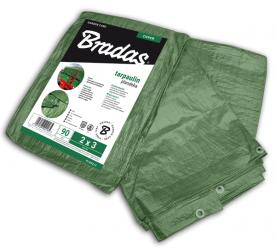 Ponyva, zöld 10x12 m, 90gr/nm (A névleges mérettől a valós méreteltérés akár 5% is lehet.)