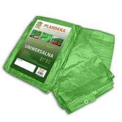 Ponyva, zöld 10x15 m, 90gr/nm (A névleges mérettől a valós méreteltérés akár 5% is lehet.)