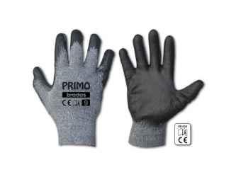 Védőkesztyű 9 PRIMO, latex, vastag.