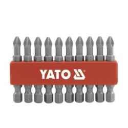 Bitkészlet 10 db-os PH1x50mm 1/4 col YATO (R5)