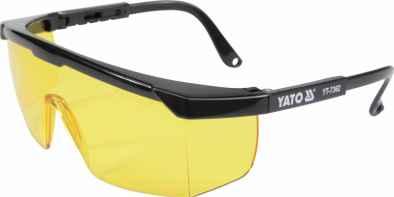 Védőszemüveg sárga 9844