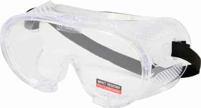 Védőszemüveg víztiszta