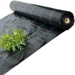 Agroszövet 90 gr fekete 0,6m x 100 fm (K1/10)