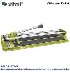 Csempevágó 600 mm max. vágás: 14 mm, vágókerék: 22 x 6 x 2 mm, 103220