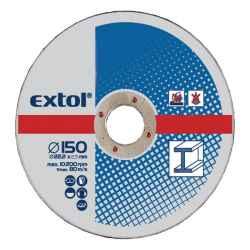 EXTOL vágókorongok fémhez 125x2,5x22,2mm 5db/csomag