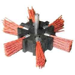 100mm, o 6mm-es csap, pvc csiszoló körkefe, fúróba fogható EXTOL