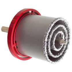 Körkivágó készlet, wolfram 33-53-73mm téglához, csempéhez, fúrógépbe fogható, hexagonális befogás EXTOL