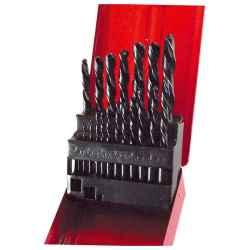 19 db-os HSS fémfúró készlet 1 - 10mm