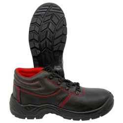 S1P munkavédelmi bokacipő, kompozit bőr, méret:40