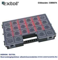 Rendező, tandembe kapcsolható b300 284 x 192 x 50 mm, fekete