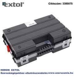 Rendező, tandem B300 TWIN 284 x 192 x 100 mm, fekete