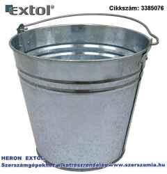 Horganyzott vödör 10 literes