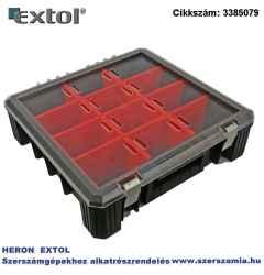 Rendező, HD 400 390 x 400 x 110 mm, flexi, fekete