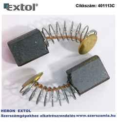 Szénkefe, 4,9 x 7,9 x 10 mm, 401113 ütvefúrógéphez, 2db