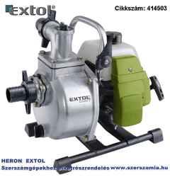 Benzinmotoros szivattyú, 1,45 KW, kétütemű, 1,5 col max. 250 liter/perc, max. 35 m