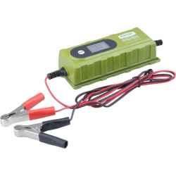 Akkumulátor röltő, autós, mikroprocesszoros, intelligens, 0,8/3,8 Amp, DC 12V/6V EXTOL CRAFT
