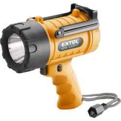 Kézi reflektor LED, 5W, nagy fényerejű, vízálló elem nélkül EXTOL LIGHT
