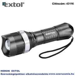 Led lámpa, 1 W, 40 lumen, zoom funkció műanyag ház, elem nélkül
